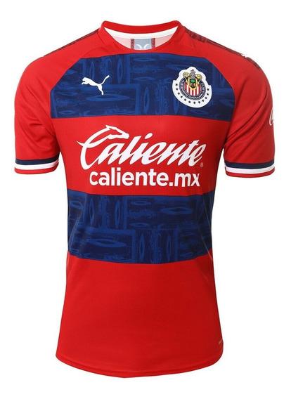 Camisa Chivas Away - Pronta Entrega
