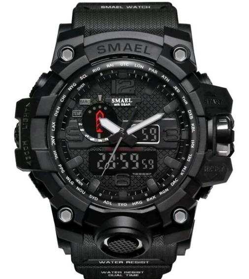 Relógio Esportivo Smael Preto A Prova D