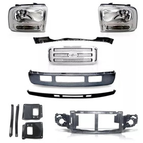 Kit Frente F250 F350 Kit 2006 A 2012 Completo