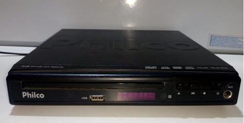 Dvd Philco Ph148 Usado- Leia O Anuncio Com Controle