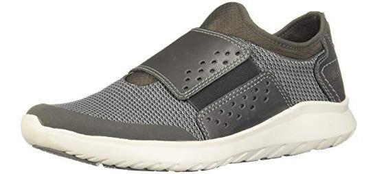 Tenis Zapato Flexi Piel Gris Caballero Comodo Orginal Remate
