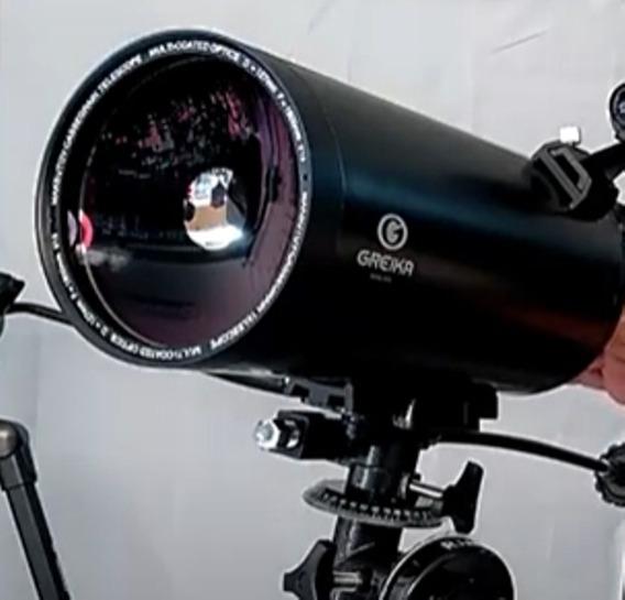 Telescópio Greika Maksutov-cassegrain 127 Eq Com Motorização