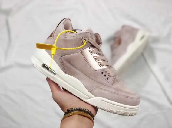 Jordan Retro 3 Rose Gold Para Mujer A Pedido Nike 4 5 6 7 13