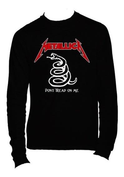 Playeras Metallica Manga Larga - 15 Diseños Disponibles