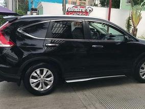 Honda Cr-v 2012 4x4 Negra Full Financiamiento Disponible