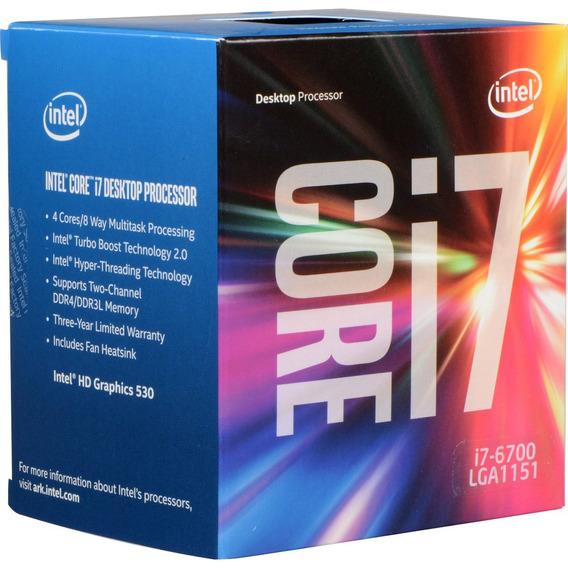 Processador Intel Core I7-7700 3.6ghz 8mb Box Sk-1151