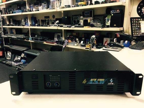 Amplificador Asw 4000 Potencia 1000w - Loja Jarbas Instrum.