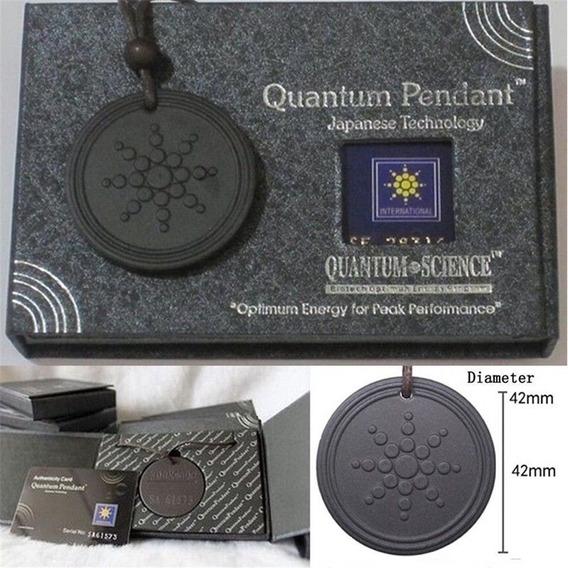 Colar Medalhão Quantum Bio Energia Escalar 5000 Íons J3135