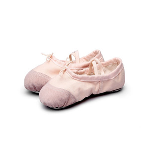 Zapatillas Ballet Danza Gimnasia Niñas Flexibles Gamuza %%