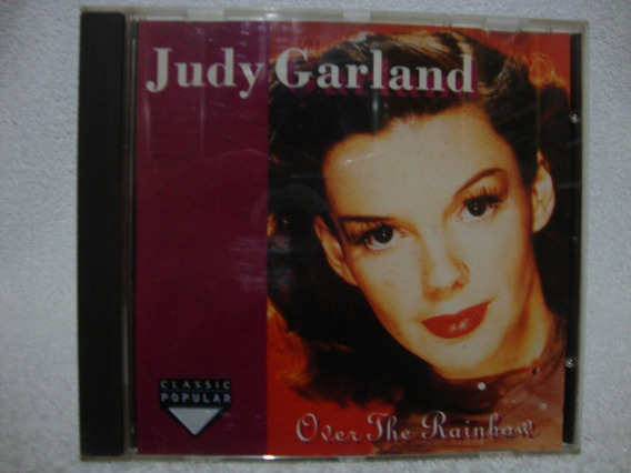 Cd Original Judy Garland- Over The Rainbow- Importado