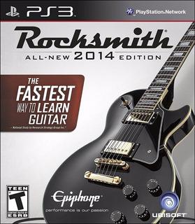 Rocksmith 2014 Cable Incluido Ps3 - Blakhelmet E