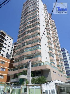 Apartamento Em Praia Grande, 02 Dormitórios Sendo 01 Suíte, Sacada Goumert. Lazer Completo Na Tupi Ap1547 - Ap1547