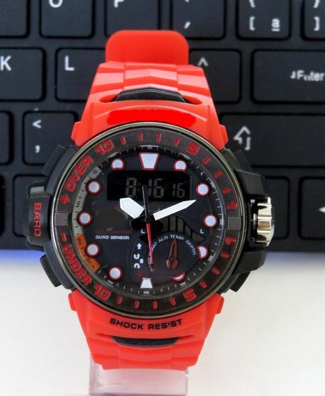 Relógios Shock-top Grande Digital Analógico Barato Original