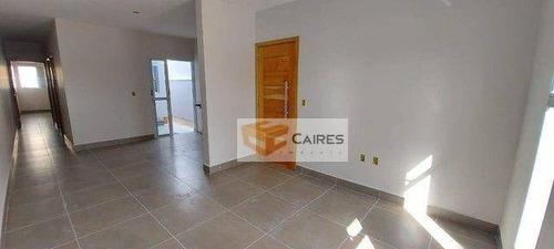 Imagem 1 de 13 de Casa Com 2 Dormitórios À Venda, 59 M² Por R$ 270.000,00 - Jardim Trevo - Sumaré/sp - Ca3245