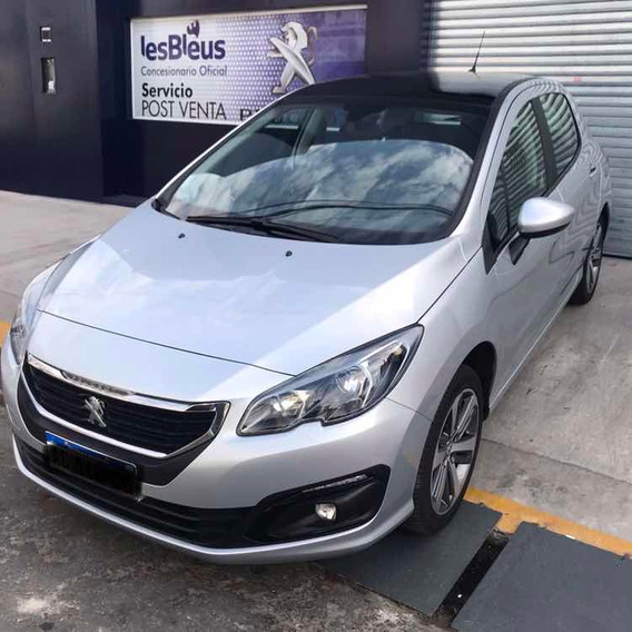 Peugeot 308 Allure Pack Hdi 2018 28.000 Km Impecable Ra