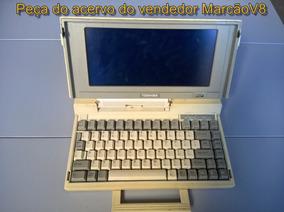 Raro Notebook Toshiba Antigo Dos Nos 80, Item P Colecionador