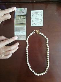 76dab9ae88ab Collar De Perlas Cultivadas Con Broche De Oro Y Perlas - Joyería en ...