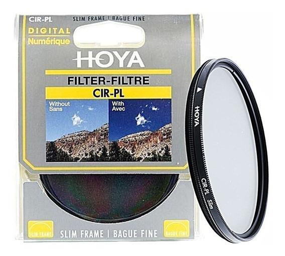 Filtro Hoya Circular Polarizador 58mm - Temos Loja Física