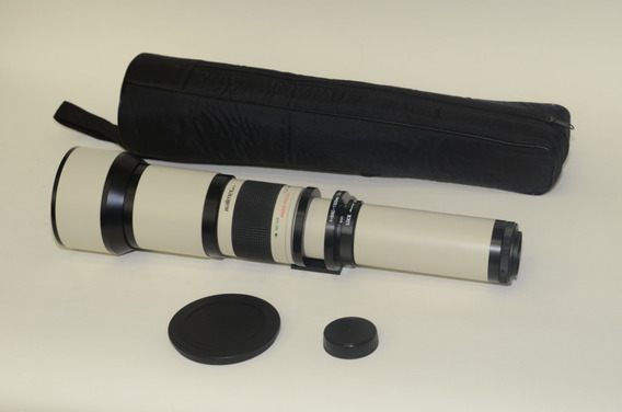 Lente 650 - 1300 Mm Rosca 48 + Adap Baioneta Nikon