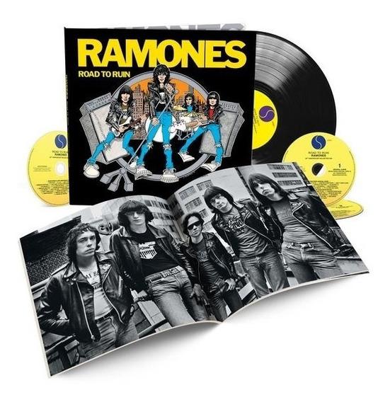 Ramones Road To Ruin 40th Anniversary Box Set Pronta Entrega