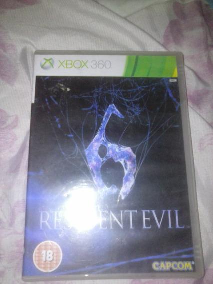 Resident Evil 6 Xbox 360 Original