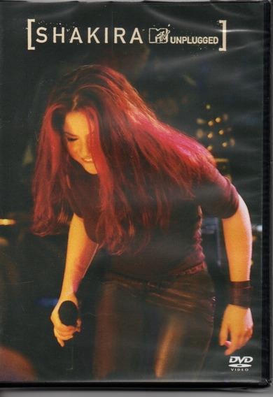 Dvd Shakira - Unplugged
