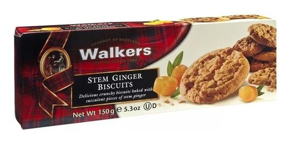 Galletas Walkers De Jengibre Confitado 150g