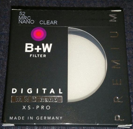 Filtro B+w 52mm Mrc Nano Clear Xs Pro 007 Xsp