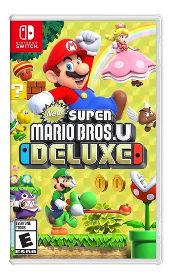 New Super Mario Bros U Deluxe Nintendo Switch (en D3 Gamers)
