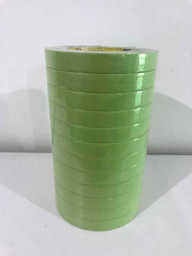 Tirro Verde Cinta Enmascarar 3m Scotch 233+ 3/4 X 50mts