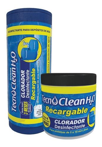 Imagen 1 de 1 de Kit Tecnoclean H2o Uso Doméstico Desinfectante Para Tinacos