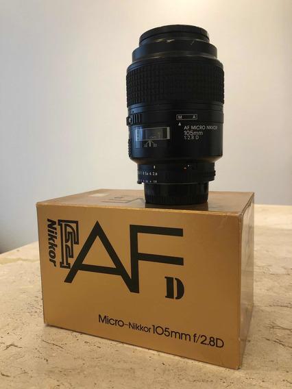 Lente Nikon 105mm 2.8d Macro