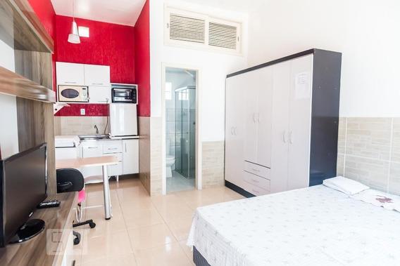 Apartamento Para Aluguel - Chácara Das Pedras, 1 Quarto, 25 - 892928182