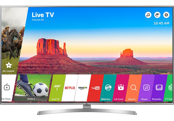 Smart Tv 4k 50 Lg 50uk6550psb