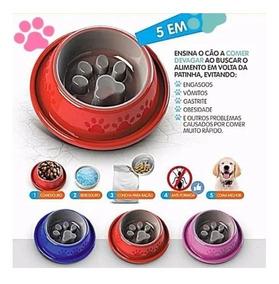 Kit 8 Comedouro Especial Para Cachorro Obesos Anti-formiga