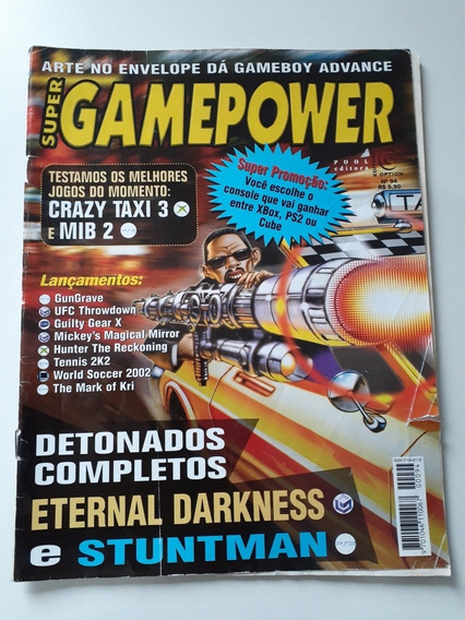 Revista Super Gamepower N:94 Eternal Darkness.