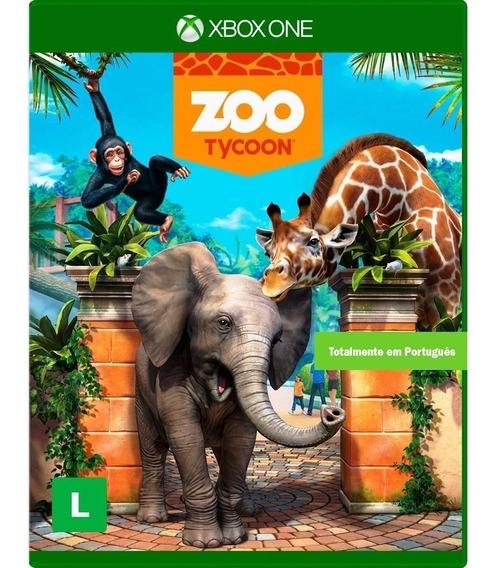 Zoo Tycoon Xbox One Original Mídia Física Português