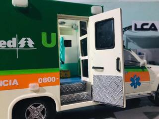Miniatura Ambulância Unimed 1/18