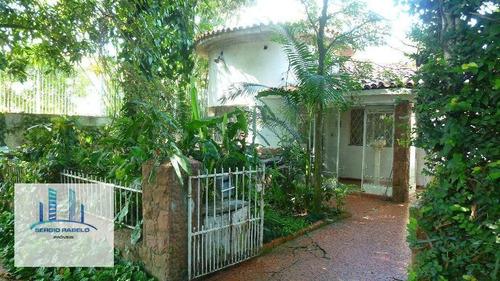 Imagem 1 de 17 de Casa Residencial À Venda, Butantã, São Paulo. - Ca0107