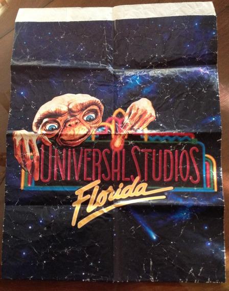 Antigua Bolsa De Et De Universal Studios De Coleccion