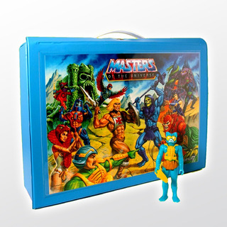 Motu Reaction Carry Case Con Mer-man Exclusivo Super 7