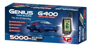 Alarma Automotriz Genius Inteligente 2 Vías. G400x3