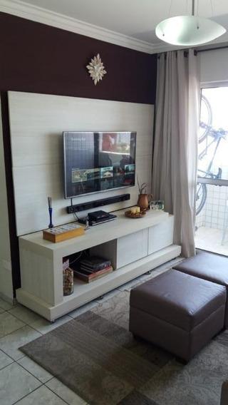 Apartamento Com 3 Dormitórios À Venda, 80 M² Por R$ 420.000 - Torre - Recife/pe - Ap2994