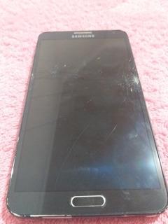 Celular Samsung Note3 Tela Quebrada Placa Boa Leia O Anuncio