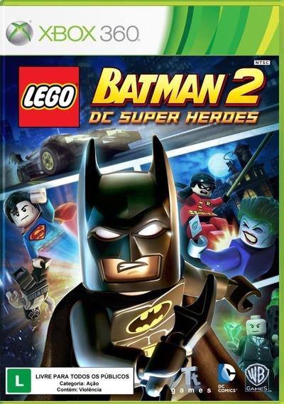 Jogo X-box 360 Lego Batman 2 Dc Super Heroes - Lacrado