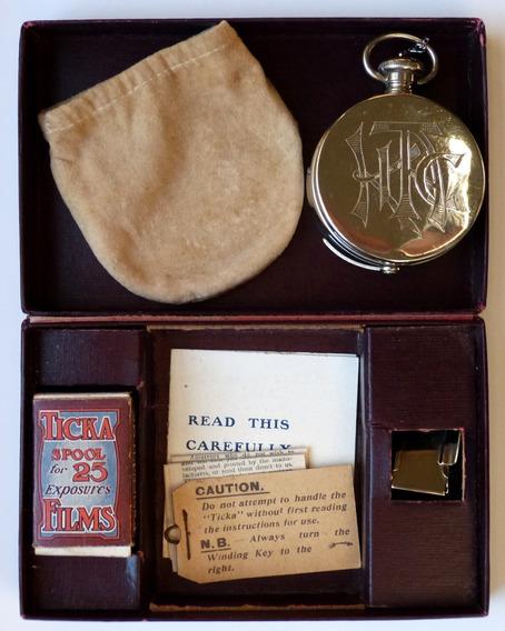 Camara Ticka Espía Pocket Watch