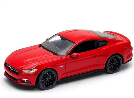 Ford Mustang Gt Esc 1 24 Welly Excelentes Detalles