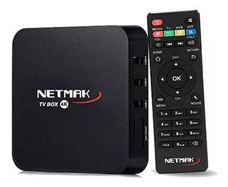 Tv Box Android 7.1 Tv Netmak 4k 1gb Ram 8gb Wifi Tv Hdmi