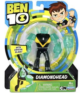Boneco Ben 10 Figuras De Ação - Diamante - Sunny