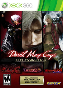 Devil May Cry Collection 3 Em 1 - Xbox 360 - Usado